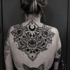tribal moon tattoo for women ; tribal moon and sun ; Home Tattoo, Diy Tattoo, Tribal Moon Tattoo, Tribal Sleeve Tattoos, Tattoo Drawings, Body Art Tattoos, Cool Tattoos, Tatoos, Piercings