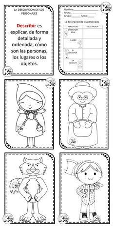 little red riding hood sequencing printable