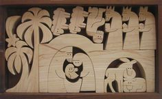 Scroll Saw Nativity Pattern