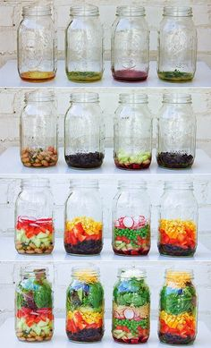 La bella stagione sta finalmente arrivando e con questa la voglia di verdure colorate. L'insalata in barattolo è un ottima soluzione per p...