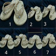 Sandals Straw Sandals Tribal Bohemian Summer Sandals Greek