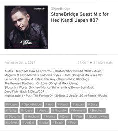 StoneBridge Guest Mix for Hed Kandi Japan #87 is up https://soundcloud.com/stonebridge/stonebridge-guest-mix-for-83 with a groovy Hed Kandi/New York vibe - check it out! #stonebridge #hedkandijapan #funky #sexy #house #audax #magnifik #lefunnk #peverellibrothers #silosonic #michaelmurica #deepfish #nightcrawlers #u-ness #jedset