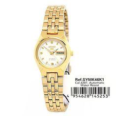19f73ba766e411 Amazon.com  Seiko Ladies Automatic Analog Casual Watch (Imported) SYMK46K1   Watches
