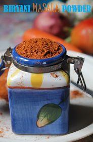 YUMMY TUMMY: Biryani Masala Powder Recipe / How to Make Biryani Masala Powder / Homemade Biryani Masala Recipe