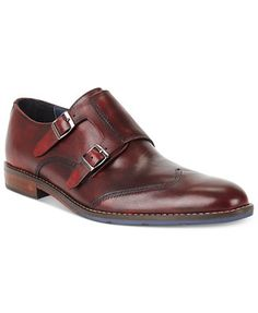 Hush Puppies Style Monk Strap Shoes
