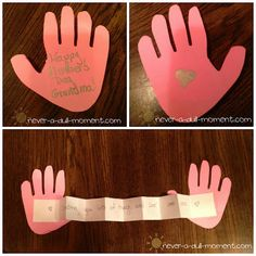 A list of easy Mother's Day crafts for toddlers and kids. Handmade art projects for Mother's day including handprint bouquet, mother's day printable and flowers Easy Mother's Day Crafts, Easy Toddler Crafts, Mothers Day Crafts For Kids, Fathers Day Crafts, Mothers Day Cards, Mother Day Gifts, Diy Crafts, Boyfriend Crafts, Sunday School Crafts