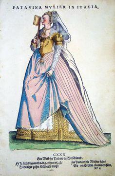 Italian Costumes by Hans Weigel, 1577