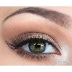 natural eye makeup for hazel eyes - Google Search                                                                                                                                                                                 More
