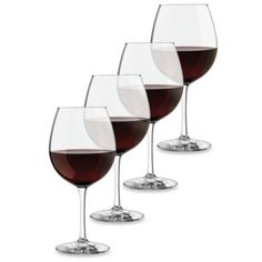 Dailyware™ 18-Ounce Red Wine Glasses (Set of 4) - BedBathandBeyond.com
