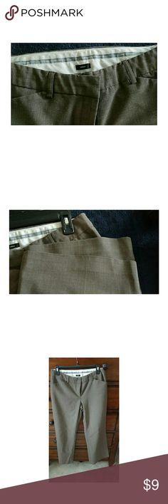 Express Brown Pants Express Editor fit pants, no damage to bottom of pants. Express Pants Trousers