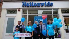 Rachel along with her branch in Leamington Spa raised over £500 for Diabetes UK and Worcester Children's Hospital with a balloon race, cake sale and tombola. This is a special cause for Rachel as funds will go towards supporting her son Alex, who was diagnosed with type one diabetes two years ago.   #Charity #Fundraising #Nationwide