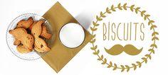 Blog Cuisine & DIY Bordeaux - Bonjour Darling - Anne-Laure: Biscuits Moustache