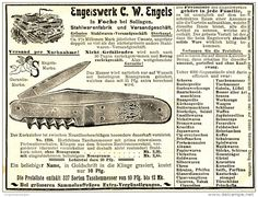 Original-Werbung/ Anzeige 1903 - ENGELSWERK C.W.ENGELS/ MOTIV TASCHENMESSER…