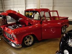 This beautiful Chevy Apache was at the Barrett-Jackson June auction 2011