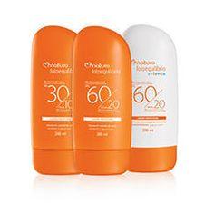 A linha Fotoequilíbrio traz a melhor proteção para cada tipo de pele.