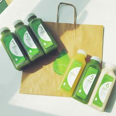 This is what a day of our Transformation Cleanse looks like. 4 Bottles jam-packed with delicious, organic, cold-pressed greens. Pressed to Perfection.