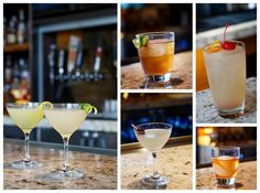 Every Thursday beginning at 5:30pm, we like to #throwback to these classic cocktails! Enjoy a Sazerac, Dark & Stormy, Corpse Reviver and more! #marinakitchen
