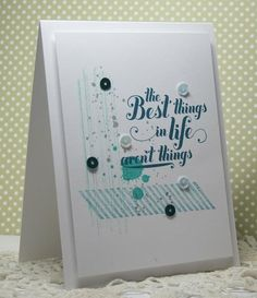 the best things by rosigrld - Cards and Paper Crafts at Splitcoaststampers