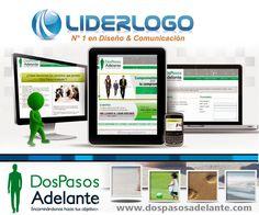 Diseño web personalizado en www.liderlogo.com.mx/web #webdesign #logodesign