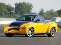 2006 Chevrolet SSR Pictures: See 106 pics for 2006 Chevrolet SSR. Browse interior and exterior photos for 2006 Chevrolet SSR. Chevrolet Malibu, Chevrolet Chevelle, Chevrolet Trucks, Chevrolet Silverado, Old Trucks, Pickup Trucks, Chevy Hhr, Classic Trucks, Classic Cars
