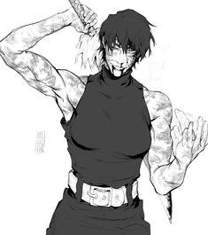 Me Me Me Anime, Anime Guys, Manga Art, Anime Art, Drawing Studies, Haikyuu Manga, Guy Drawing, Muscle Girls, Dark Anime
