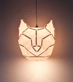 MostLikely Animal Foldable Paper Lamps