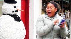 Funny - Funny Scary Snowman Prank - Season 3 Episode 4, via YouTube.