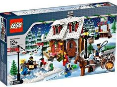 lego winter village - sleigh ride