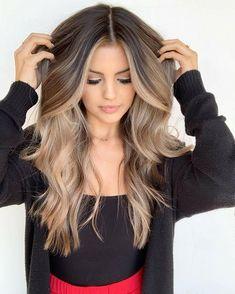 hair goals 💁🏼‍♀️ – hair goals 💁🏼‍♀️ – Related posts: Hair and make up goals Copper golden honey blonde balayage hair color golden balayage hair✨ Hair cut color – # cut Brown Blonde Hair, Blonde Hair For Brunettes, Balayage Hair Brunette With Blonde, Blonde Hair Dye On Brown Hair, Blonde Hair Black Eyebrows, Highlighted Hair For Brunettes, Blonde Fall Hair Color, Light Brown Ombre Hair, Dark To Light Hair