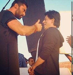 Behind the scenes from Chennai express