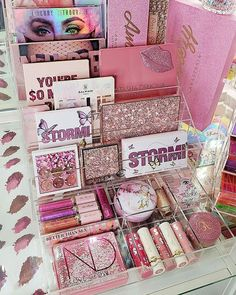 We Heart It, Make Up Storage, Beauty Room, Beauty Blender, Makeup Brushes, Bath And Body, Gift Wrapping, Perfume