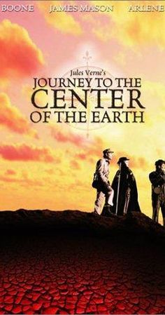 Directed by Henry Levin.  With James Mason, Pat Boone, Arlene Dahl, Diane Baker. An Edinburgh professor and assorted colleagues follow an explorer's trail down an extinct Icelandic volcano to the earth's center.