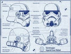 Stormtrooper Imperial Issue Helmet