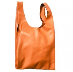 This new leather BAGGU ($30) works from day-to-night.