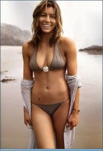 Jessica Biel... Her body really is an amazing balance of muscle and curves