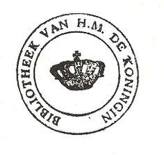 exlibris, dutch royal