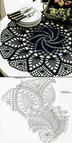 Free Crochet Doily Patterns, Crochet Earrings Pattern, Crochet Diagram, Crochet Squares, Filet Crochet, Irish Crochet, Crochet Motif, Crochet Doilies, Crochet Stitches