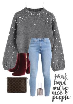 """Keep me Swaying"" by abbyharshman8 on Polyvore featuring Ravel, Kendra Scott, Essie and Louis Vuitton"
