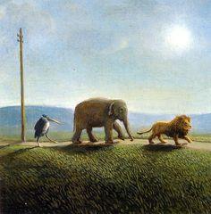 Michael Sowa Art | Michael Sowa Art, Prints, Pig, Poster, Painting Gallery, Sa13 On The ...