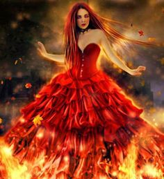 POETRY THAT COMES FROM THE HEART AND SOUL: FLAMES