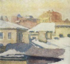 Крымов. Крыши. 1952