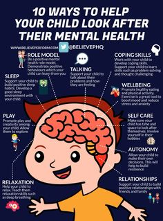10 ways to help your child look after their mental health - the uk's leading sports psychology website · the uk's leading sports psychology website Mental Health Week, Mental Health Awareness, Autism Awareness, Anxiety In Children, Kids Behavior, Social Emotional Learning, Health Promotion, Kids Health, Children Health