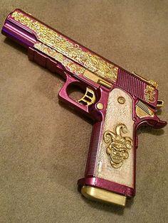 Suicide Squad Joker Halloween Cosplay Gun Cosplay Weapon