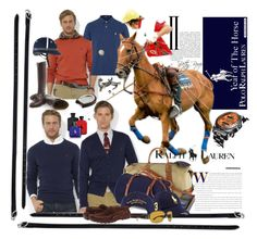 Year Of The Horse PRL by betiboop8 on Polyvore featuring Polo Ralph Lauren, Ralph Lauren Home, Equipment, Ralph Lauren, Breitling and yearofthehorse