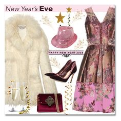 """New Year's Eve"" by anne-irene ❤ liked on Polyvore featuring Michael Kors, Erdem, STELLA McCARTNEY, Gianvito Rossi and Bebe"