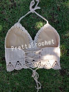 Pretta Crochet: Top de Crochet Secret