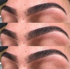 Augenbrauen Cheap Eyebrow Threading Near Me Thick Eyebrow Shapes, Perfect Eyebrow Shape, Thick Brows, Perfect Brows, Natural Brows, Mircoblading Eyebrows, Eyebrows Goals, Threading Eyebrows, Drawing Eyebrows