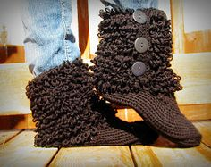 Boots with the Furr...... Adult Size!