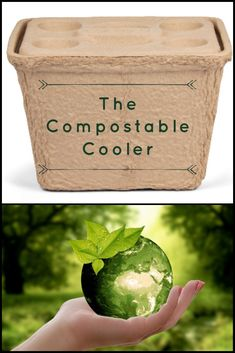 Yes, you read correctly, a compostable cooler! The Igloo Recool is now available! Save Mother Earth, Must Have Gadgets, Rv Organization, Rv Accessories, Rv Travel, Save The Planet, Bye Bye, Compost, Biodegradable Products