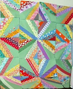 I Guess Once a Year I Work on This (Sane, Crazy, Crumby Quilting)